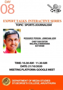 Interactive Session- Sports Journalism